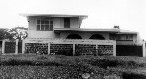The Lim residence on 731 Pina Ave. in Sta. Mesa, early 1960s.