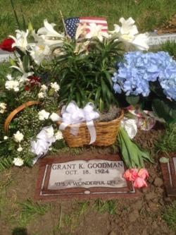 Grant Goodman's Tomb.