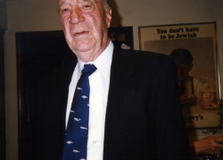 Carroll Edwards at one of Paul's parties, early 1990s.