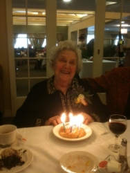 Ilse Steinhardt's 95th birthday.