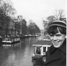 Tony Cius in Amsterdam, mid-1960s.