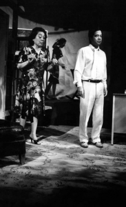 Another one of Estelle Bennett with Alberto Isaac.